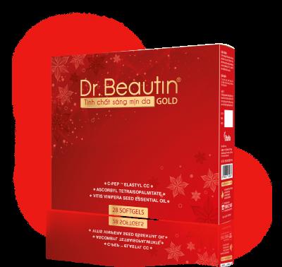 Dr. Beautin - Tinh chất sáng mịn da (phiên bản GOLD, 28 viên)
